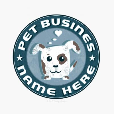 Ready-Made-Pet-Business-Logo-Design-Retro-17A