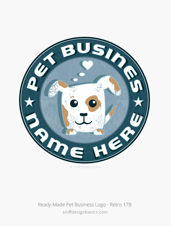 Ready-Made-Pet-Business-Logo-Design-Retro-17B
