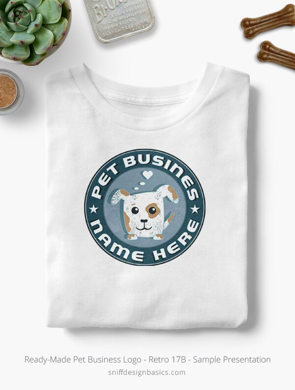 Ready-Made-Pet-Business-Logo-Showcae-T-Shirt-Retro17B