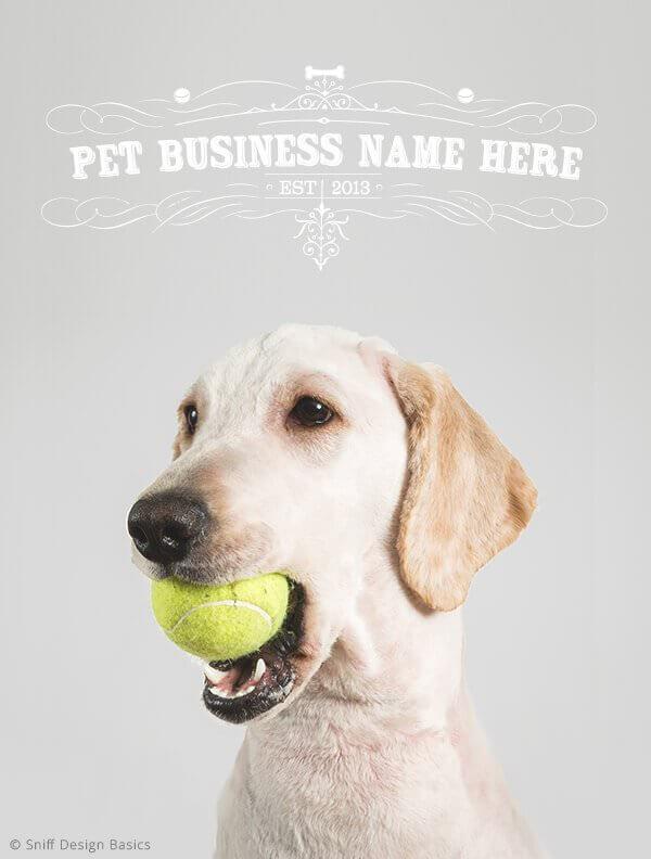 Ready-Made-Pet-Business-Logo-Design-Images-4-Showcase-WhiteOption-Elegant-5