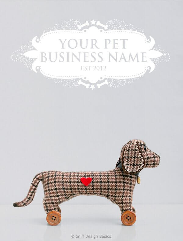 Ready-Made-Pet-Business-Logo-Design-Images-4-Showcase-WhiteOption-Elegant1