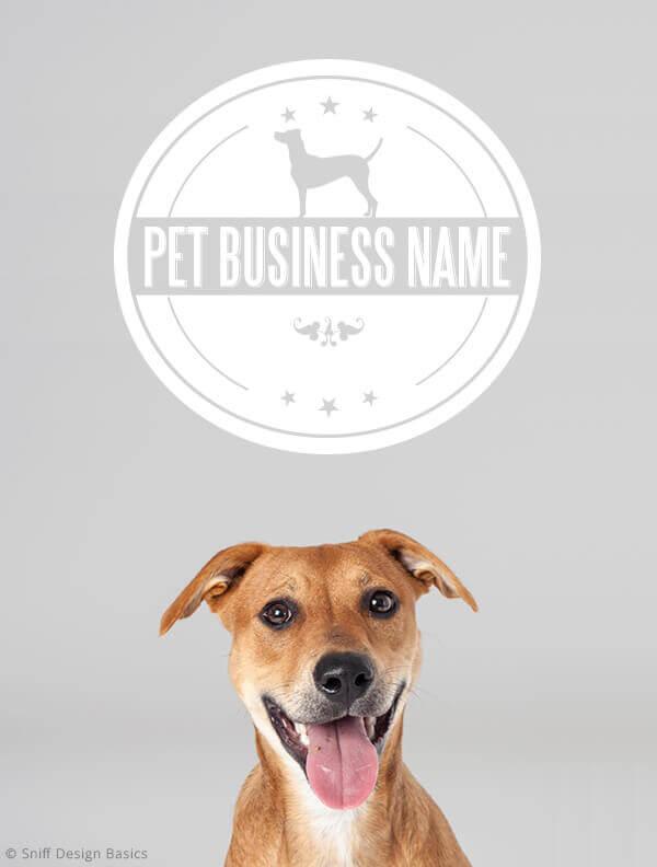 Ready-Made-Pet-Business-Logo-Design-Images-4-Showcase-WhiteOption-Modern-1