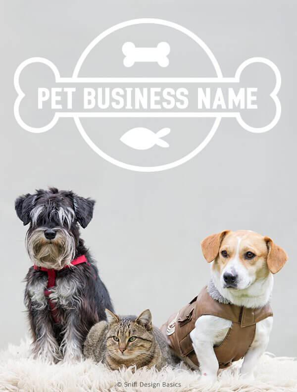 Ready-Made-Pet-Business-Logo-Design-Images-4-Showcase-WhiteOption-Modern-13