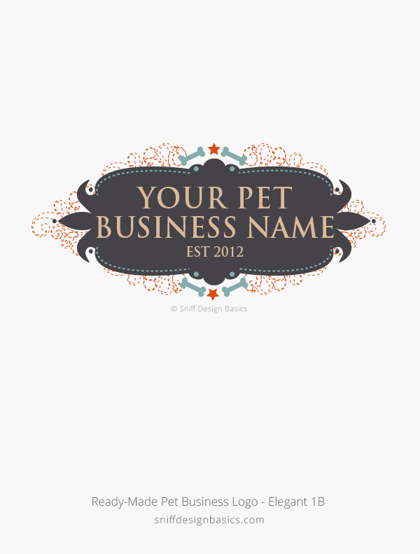 Ready-Made-Pet-Business-Logo-Elegant-Design-1B