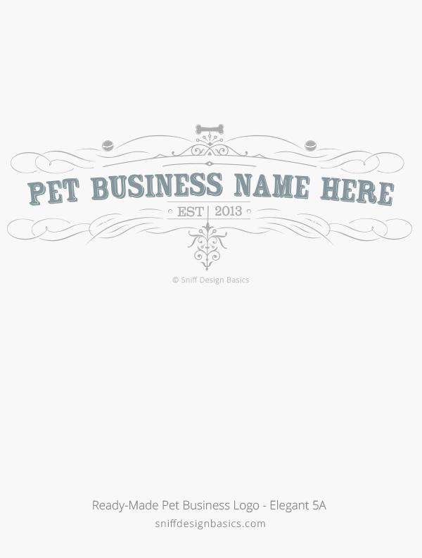 Ready-Made-Pet-Business-Logo-Elegant-Design-5A