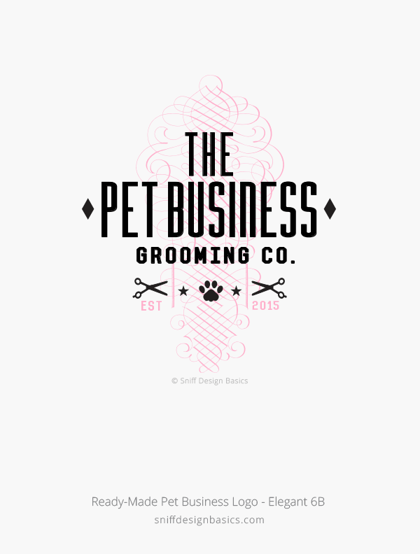 Ready-Made-Pet-Business-Logo-Elegant-Design-6B