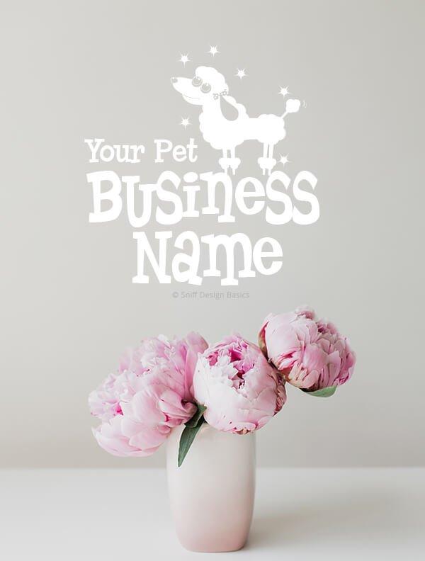 Ready-Made-Pet-Business-Logo-Images-4-Showcase-WhiteOption-Retro3