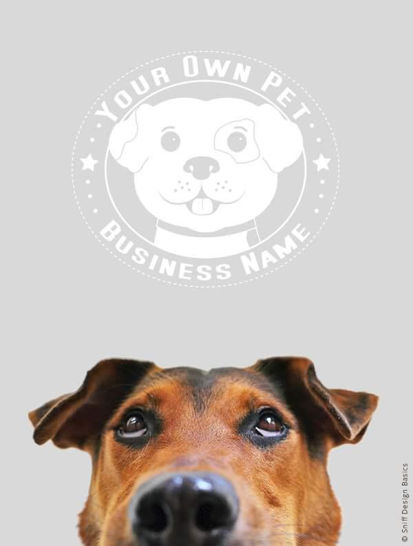 Ready-Made-Pet-Business-Logo-Images-4-Showcase-WhiteOption-Retro7