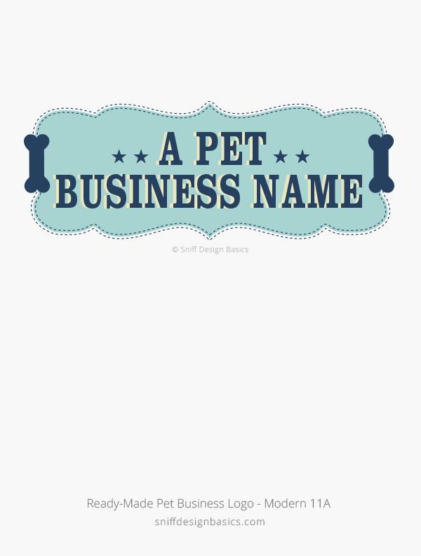 Ready-Made-Pet-Business-Logo-Modern-Design-11A