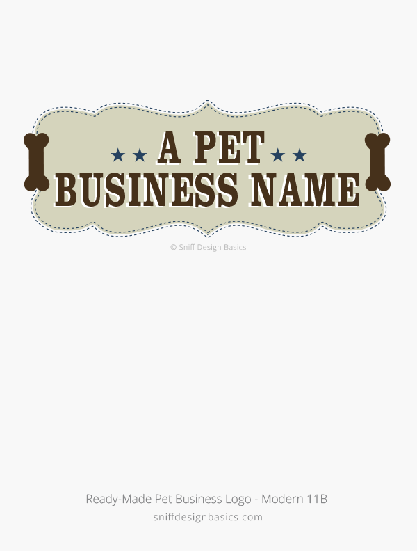 Ready-Made-Pet-Business-Logo-Modern-Design-11B