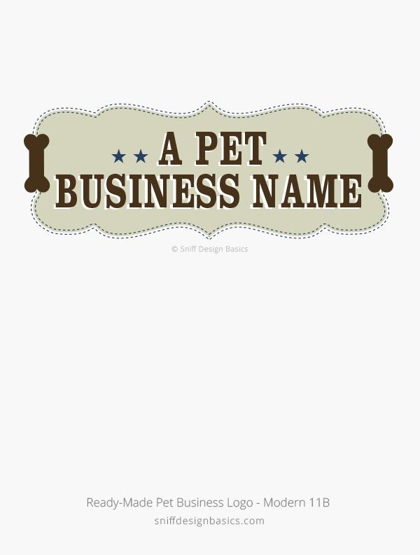 Ready-Made-Pet-Business-Logo-Modern-Design-11B