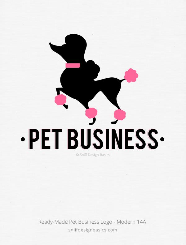 Fabulous Ready Made Pet Business Logo – Modern 14 | Sniff Design® Basics  ZE15