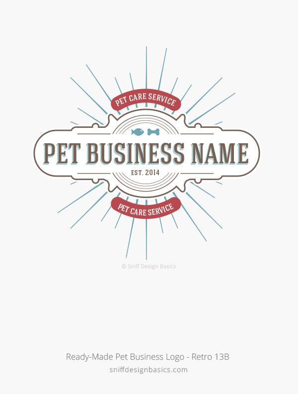 Ready-Made-Pet-Business-Logo-Retro-13B