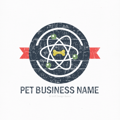 Ready-Made-Pet-Business-Logo-Retro-14A