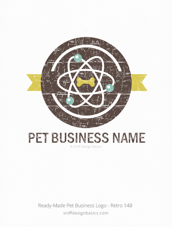 Ready-Made-Pet-Business-Logo-Retro-14B