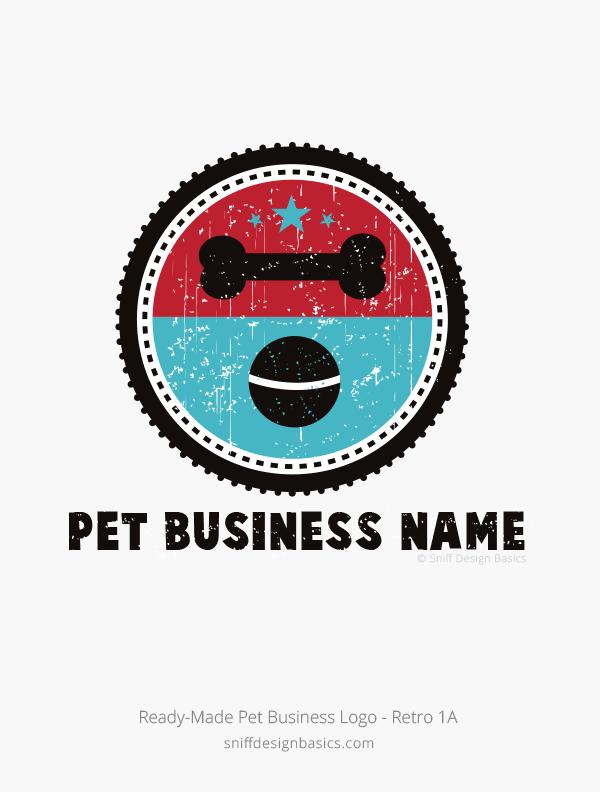 Ready-Made-Pet-Business-Logo-Retro-1A