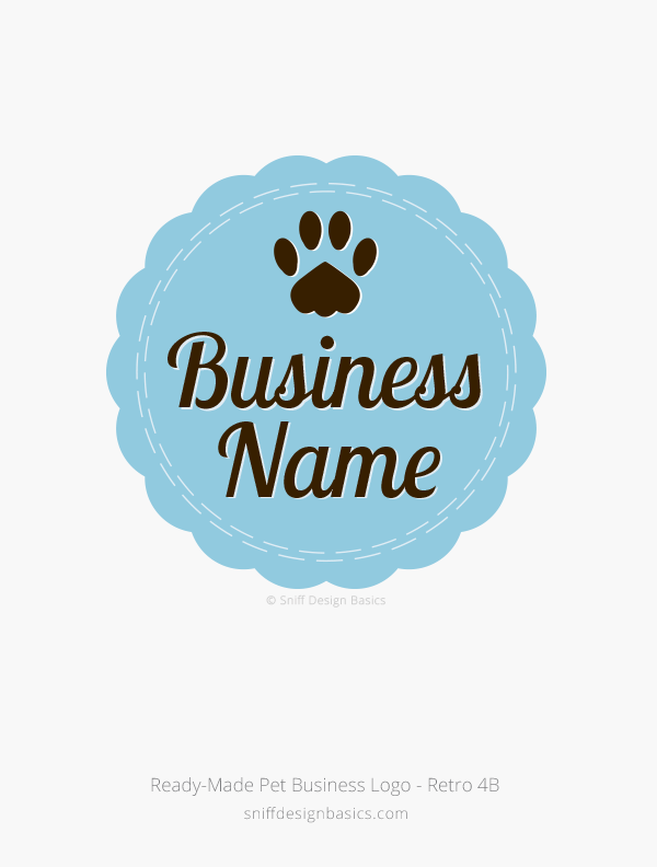 Ready-Made-Pet-Business-Logo-Retro-4B