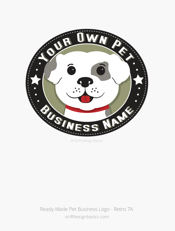 Ready-Made-Pet-Business-Logo-Retro-7A
