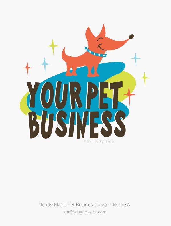 Ready-Made-Pet-Business-Logo-Retro-8A