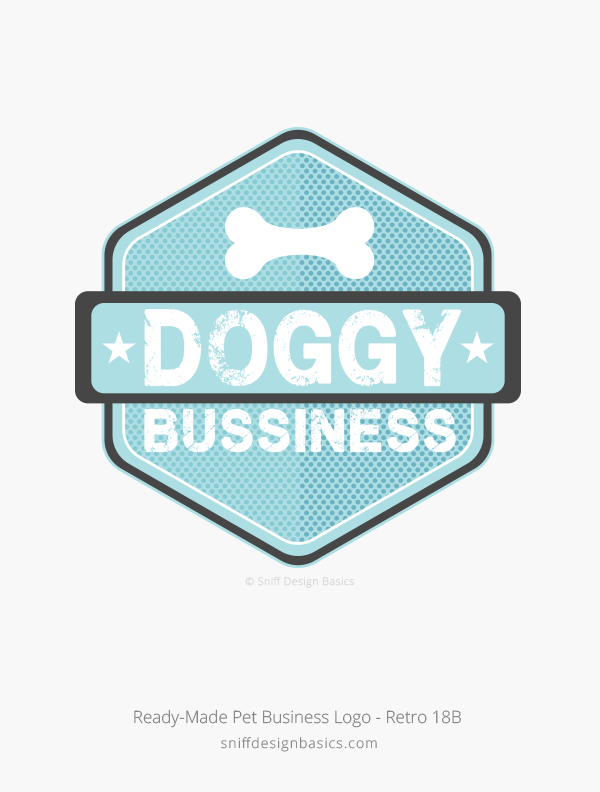 Ready-Made-Pet-Business-Logo-Retro-Design-18B