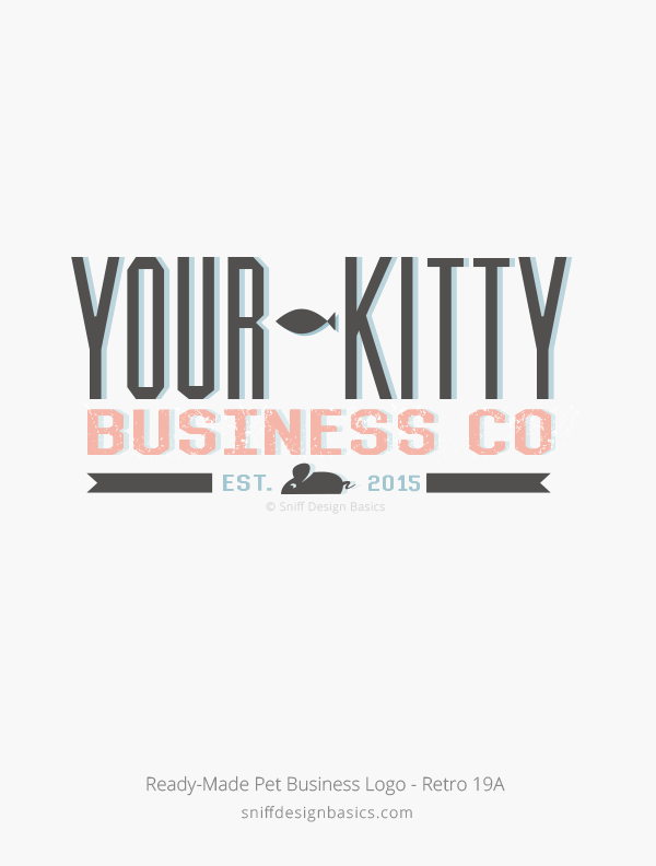 Ready-Made-Pet-Business-Logo-Retro-Design-19B