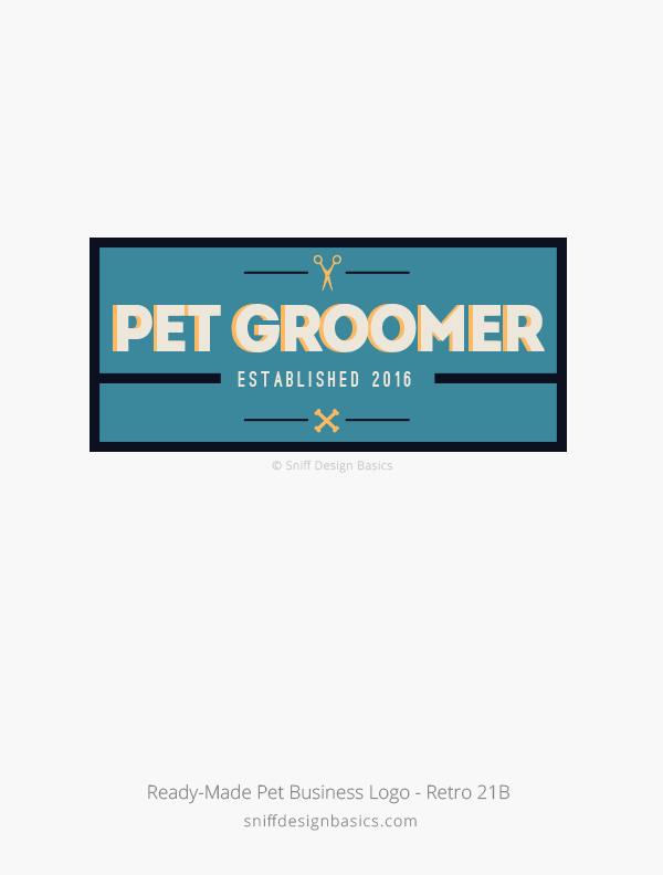 Ready-Made-Pet-Business-Logo-Retro-Design-21B