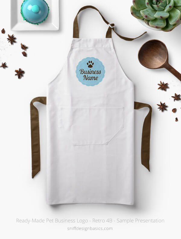 Ready-Made-Pet-Business-Logo-Showcae-Apron-Retro4B