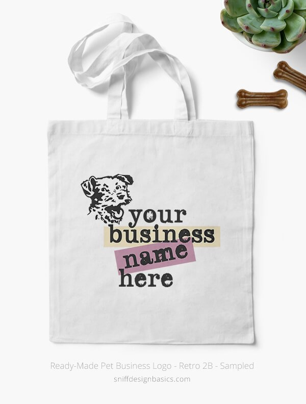 Ready-Made-Pet-Business-Logo-Showcae-Bags-Retro2B
