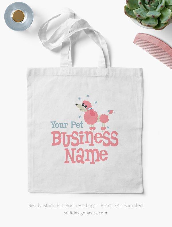 Ready-Made-Pet-Business-Logo-Showcae-Bags-Retro3A