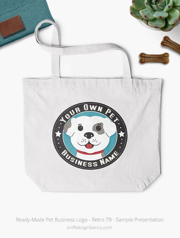 Ready-Made-Pet-Business-Logo-Showcae-Bags-Retro7B