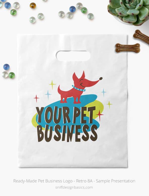 Ready-Made-Pet-Business-Logo-Showcae-Bags-Retro8B
