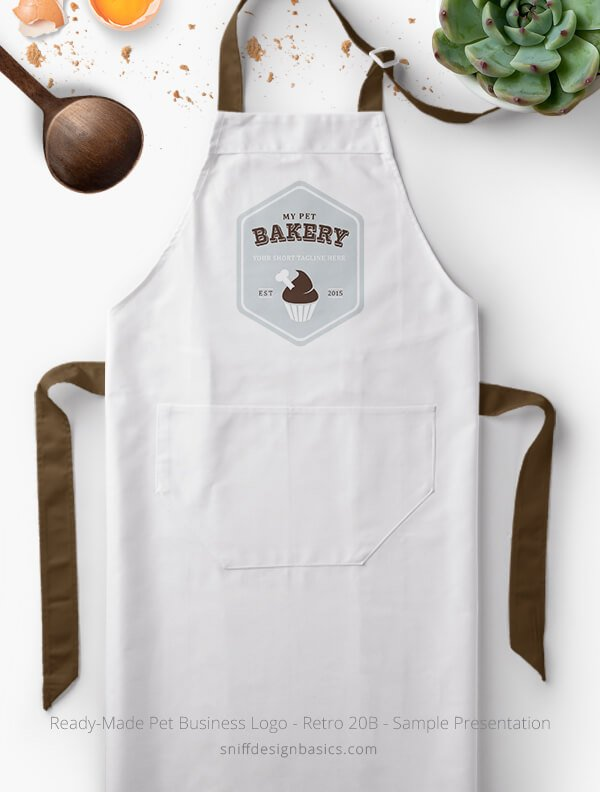 Ready-Made-Pet-Business-Logo-Showcae-Bakery-Apron-Retro20B
