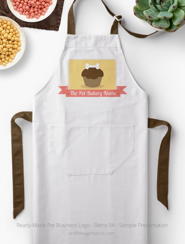Ready-Made-Pet-Business-Logo-Showcae-Bakery-Apron-Retro9A
