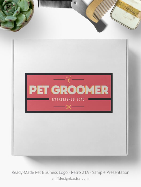 Ready-Made-Pet-Business-Logo-Showcae-Box-Retro21A