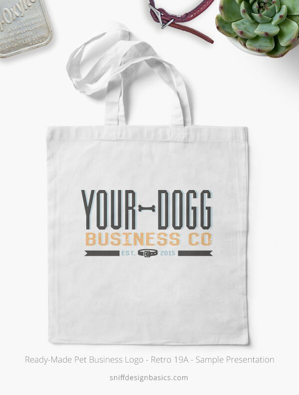 Ready-Made-Pet-Business-Logo-Showcae-Canvas-Bags-Retro19A