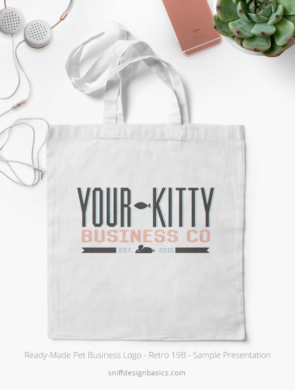 Ready-Made-Pet-Business-Logo-Showcae-Canvas-Bags-Retro19B