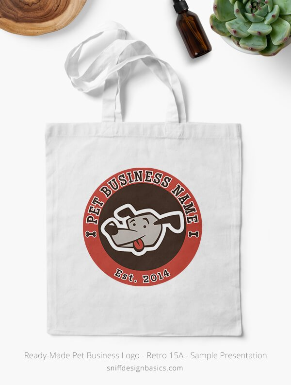 Ready-Made-Pet-Business-Logo-Showcae-Canvass-Bags-Retro15A