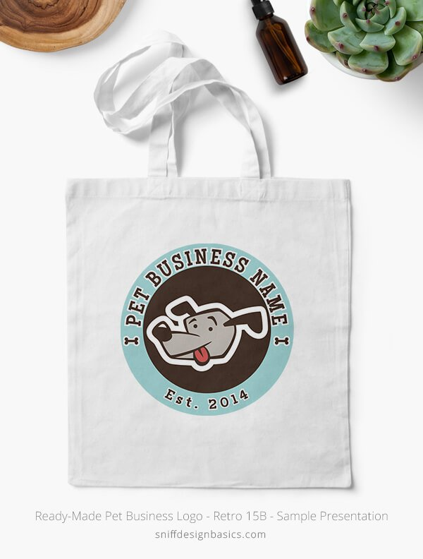 Ready-Made-Pet-Business-Logo-Showcae-Canvass-Bags-Retro15B
