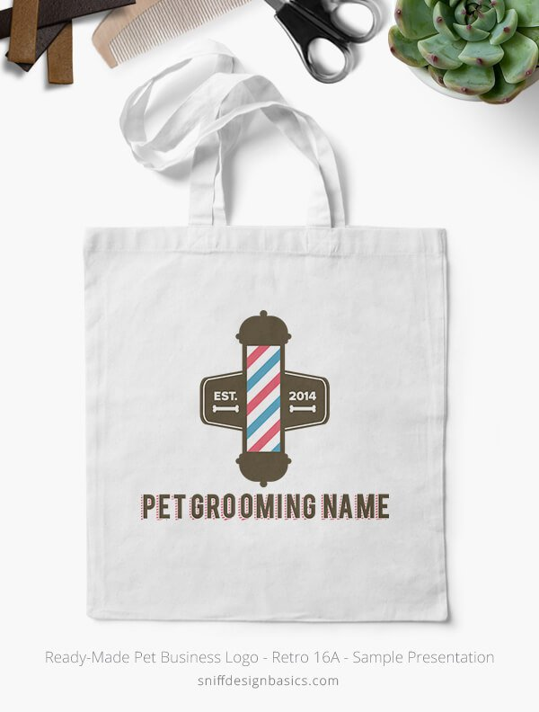 Ready-Made-Pet-Business-Logo-Showcae-Canvass-Bags-Retro16A