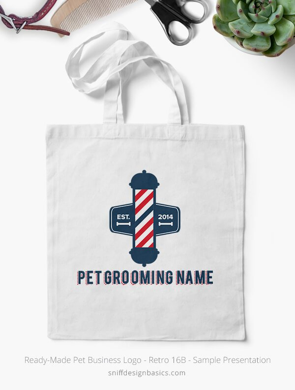 Ready-Made-Pet-Business-Logo-Showcae-Canvass-Bags-Retro16B