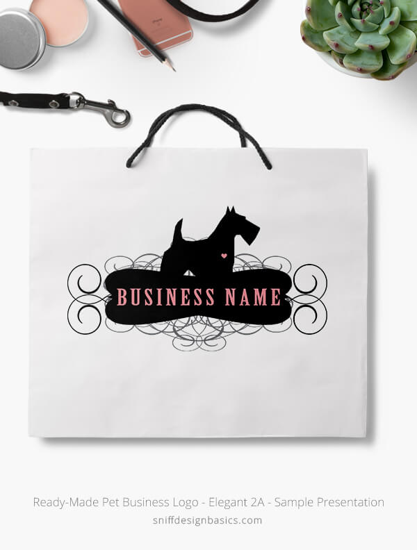 Ready-Made-Pet-Business-Logo-Showcae-Retail-Bag-Elegant-2A