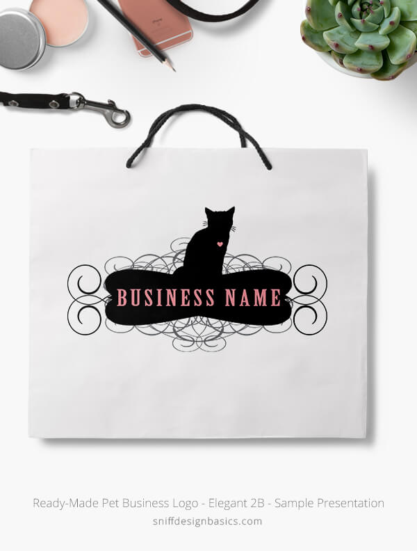Ready-Made-Pet-Business-Logo-Showcae-Retail-Bag-Elegant-2B