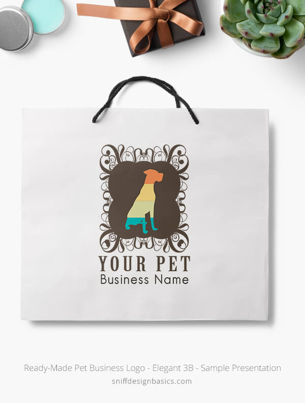 Ready-Made-Pet-Business-Logo-Showcae-Retail-Bag-Elegant-3B