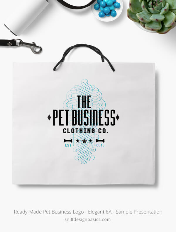 Ready-Made-Pet-Business-Logo-Showcae-Retail-Bag-Elegant-6A