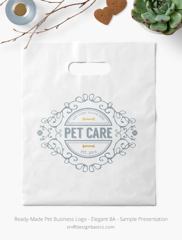 Ready-Made-Pet-Business-Logo-Showcae-Retail-Bag-Elegant-8A