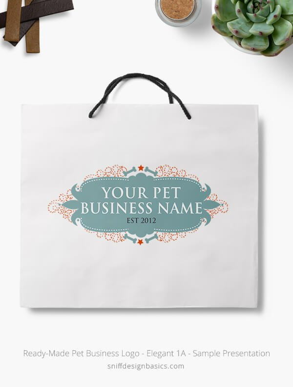 Ready-Made-Pet-Business-Logo-Showcae-Retail-Bag-Elegant1A