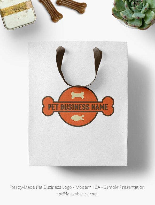 Ready-Made-Pet-Business-Logo-Showcae-Retail-Bag-Modern-13A