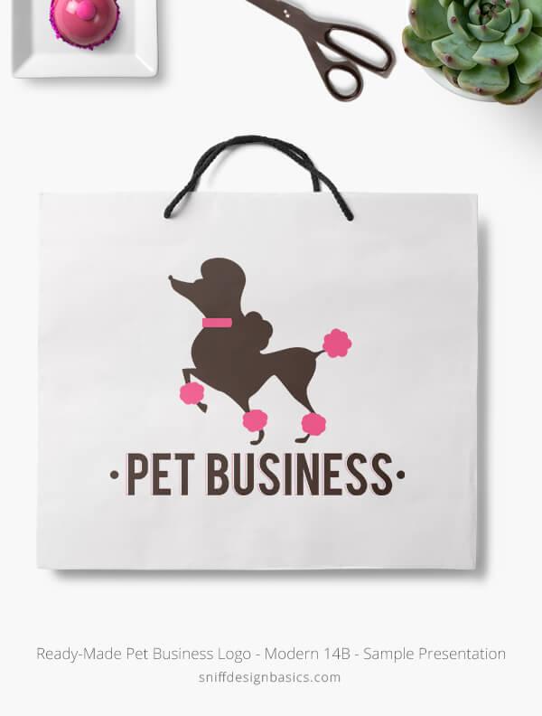 Ready-Made-Pet-Business-Logo-Showcae-Retail-Bag-Modern-14B