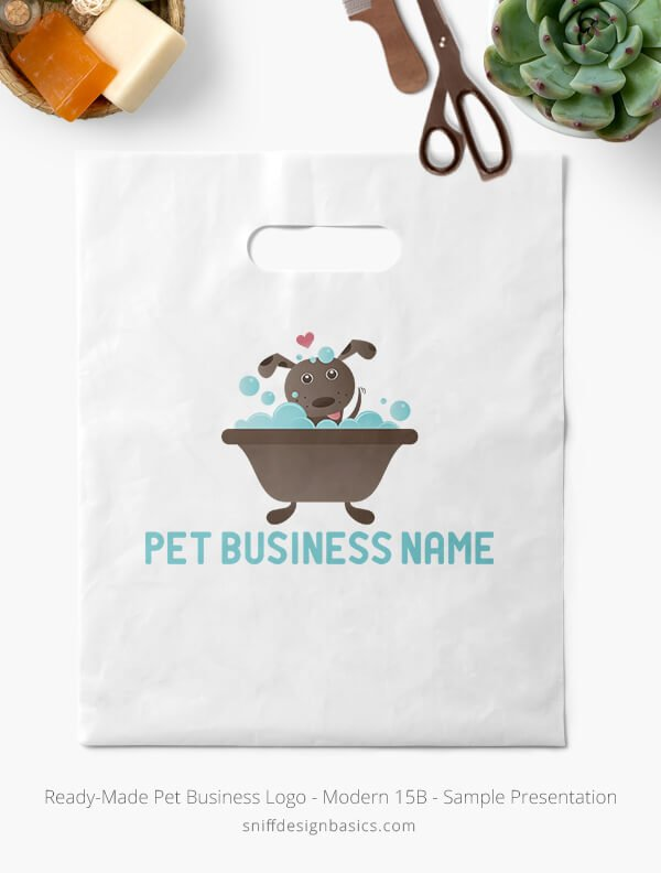Ready-Made-Pet-Business-Logo-Showcae-Retail-Bag-Modern-15B