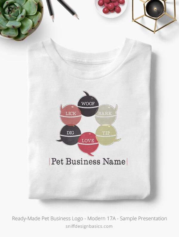 Ready-Made-Pet-Business-Logo-Showcae-T-Shirt-Modern-17A